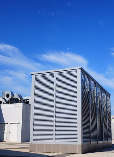 HVAC Unit on Commercial Building